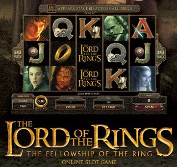 slot lord of the rings